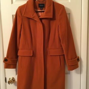Lands End Wool Coat 8P